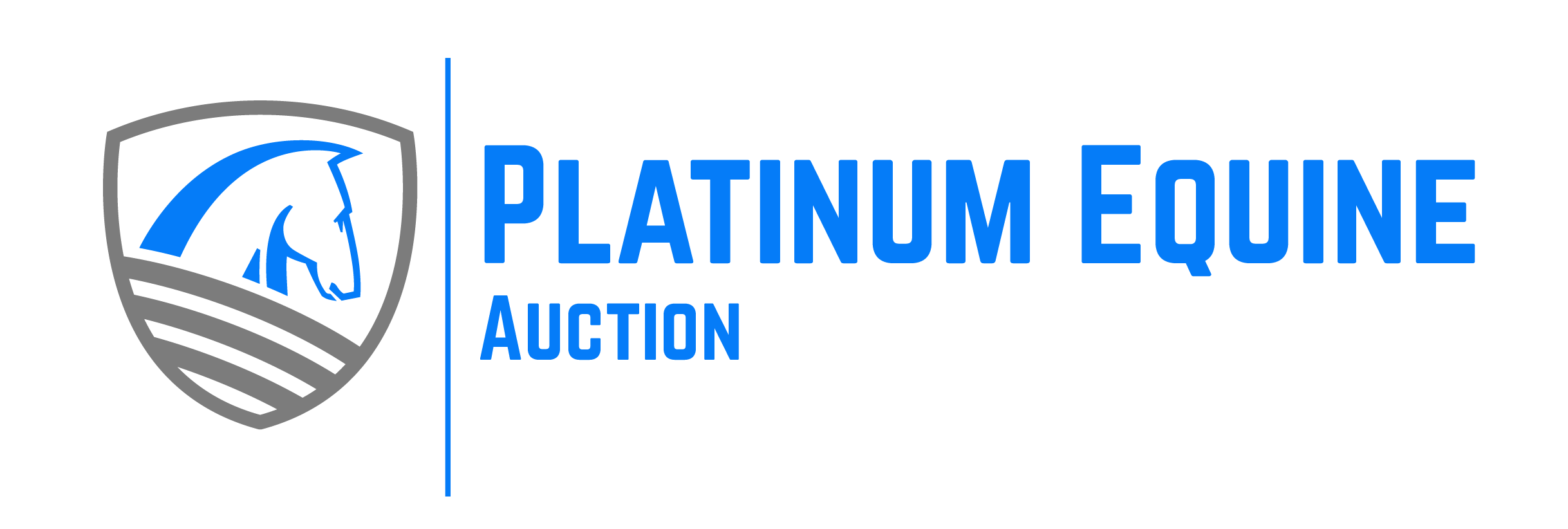 Platinum Equine Auction Logo